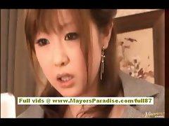Rio Hamasaki and Kirara Asuka hot asian dolls masturbating