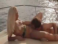 beautiful art sex on the yacht