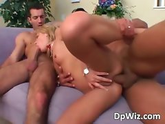 Hot blonde getting her wet mouth part5