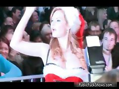 Hot blonde babe gets horny taking her part2