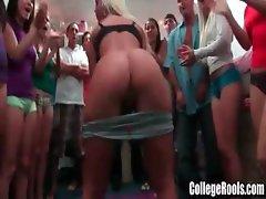Amateur College Girls Go Wild Dorm Party