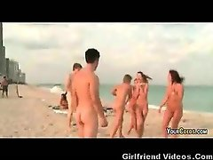 Nude Teens At The Beach