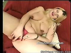 Chubby British GF Stripping