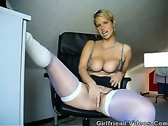 Hot German Milf Teasing
