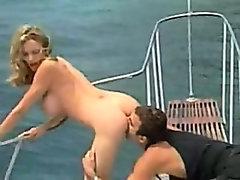 Brainna Banks sex on boat
