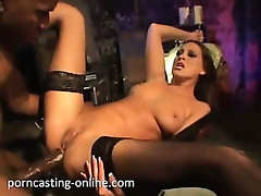No sound: Anal by Black Monster Cock