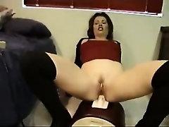 Multi Orgasm on Sybian - Anal -