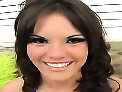Mackenzee pierce does her first dp ever
