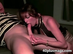 MILF gets student to fuck her