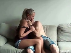 CZECH AMATEURS - HORNY BLONDE WITH AMAZING TITS IN CZECH AMATEURS