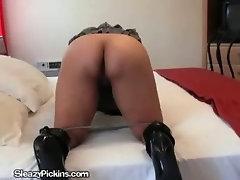 Brunette Slut Gets Fucked