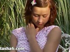 Unbelievable russian teenager finger