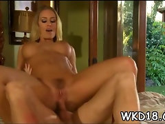 Vagina pounded after blow