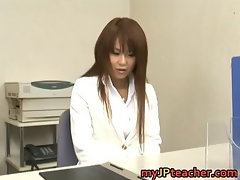 Megu Ayase Lovely Asian teacher