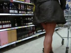 Seamed stockings 25