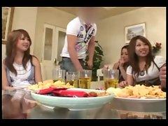 Hiyori Wakaba,Mia Kashima,Aira Kuramto party night