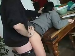 Student gets punished hard by teacher