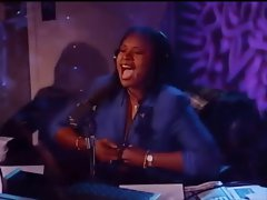 Howard Stern&amp,#039,s Robin Quivers Flashing Double G&amp,#039,s