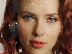 Scarlett Johansson cumshot  tribute