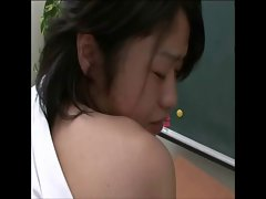 Lovely student sexual pleasure