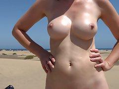 nudepuss - 8 Enjoying the view!