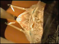 White Lace Knickers&amp,#039,N Stockings