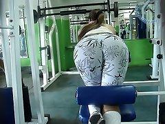 Gym Candid Ass