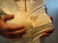 my big boobs in a bra .