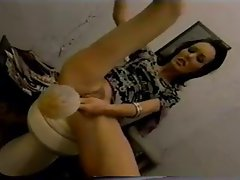 Toilet Very Deep Anal Insertion