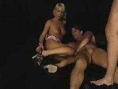 Dirty Whore love Dp action