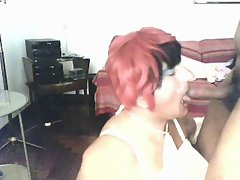 angie&amp,#039,s sperm covered face