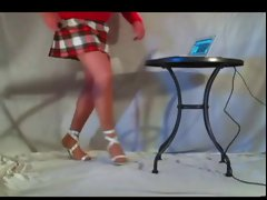 Legs,miniskirt &, heels