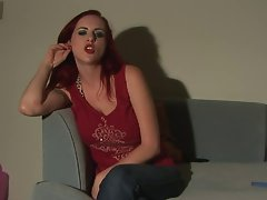 Red Head Jerkoff Instruction