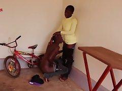 Bareback african fuckfest 1