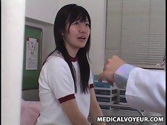 Schoolgirl used by lesbian Schooldoctor 1