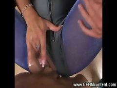 Milfs rip their clothes to get fucked by the big dick
