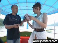 Asian Flashing And Banging Hard video-15