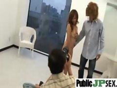 Nasty Asian Girl Get Hard Sex Outdoor clip-20