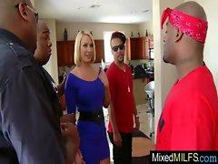 Sexy Busty Milf Like Big Black Cock video-26
