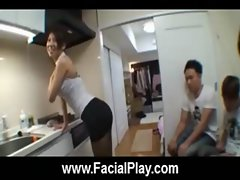 BukkakeNow - Asian sluts love facial cumshots 27