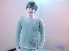 Cute little Joey jerks gay video