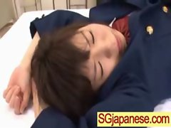 Asian In School Uniform Get Hard Sex video-16