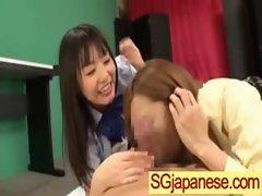 Asian In School Uniform Get Hard Sex video-08