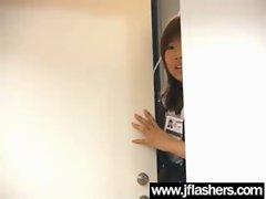 Asian Flashing And Banging Hard video-28