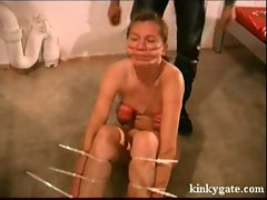 Painful slut Training for slave Lizette