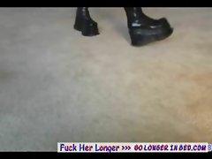 Amateur teen gives pov lapdance - Amateur sex video