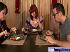 Big Tits Wife Get Fucked Hardcore video-23