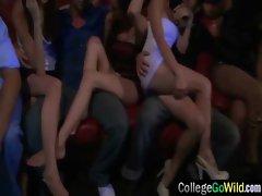 Slut Girls Get Hard Wild Sex At Party video-06