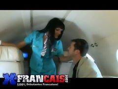 Baise dans un jet privé_