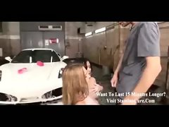 Car wash girls screwed in the ass -sc